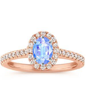 Shane Co. Elegant Oval Cut Engagement Ring
