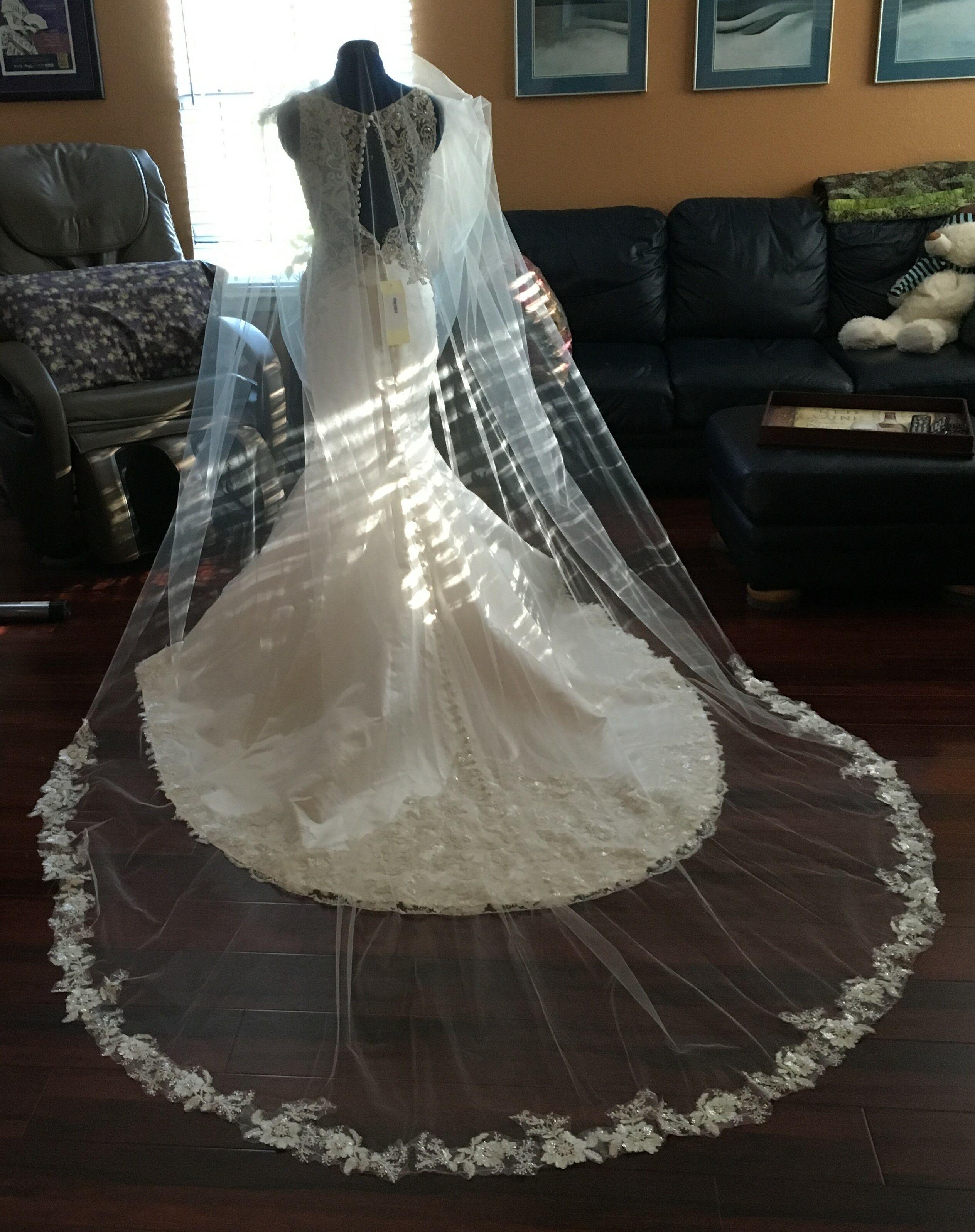 Beautiful U Bridal Veil Accessories