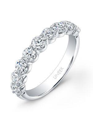 Uneek Fine Jewelry UWB05 White Gold Wedding Ring