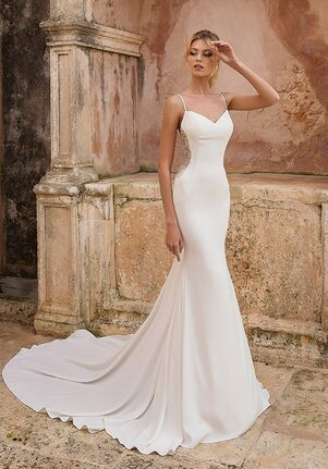 Justin Alexander 88036 Sheath Wedding Dress