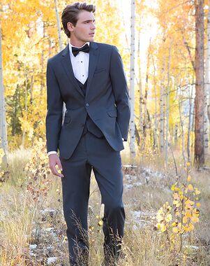 Allure Men Granite Suit Gray Tuxedo