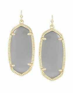 Kendra Scott Elle Gold Earrings in Slate Wedding Earring photo
