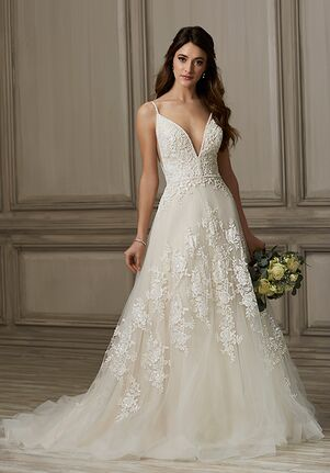 Adrianna Papell Platinum Kinsley A-Line Wedding Dress