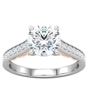 ever&ever Unique Princess, Asscher, Cushion, Emerald, Heart, Marquise, Pear, Round, Oval Cut Engagement Ring