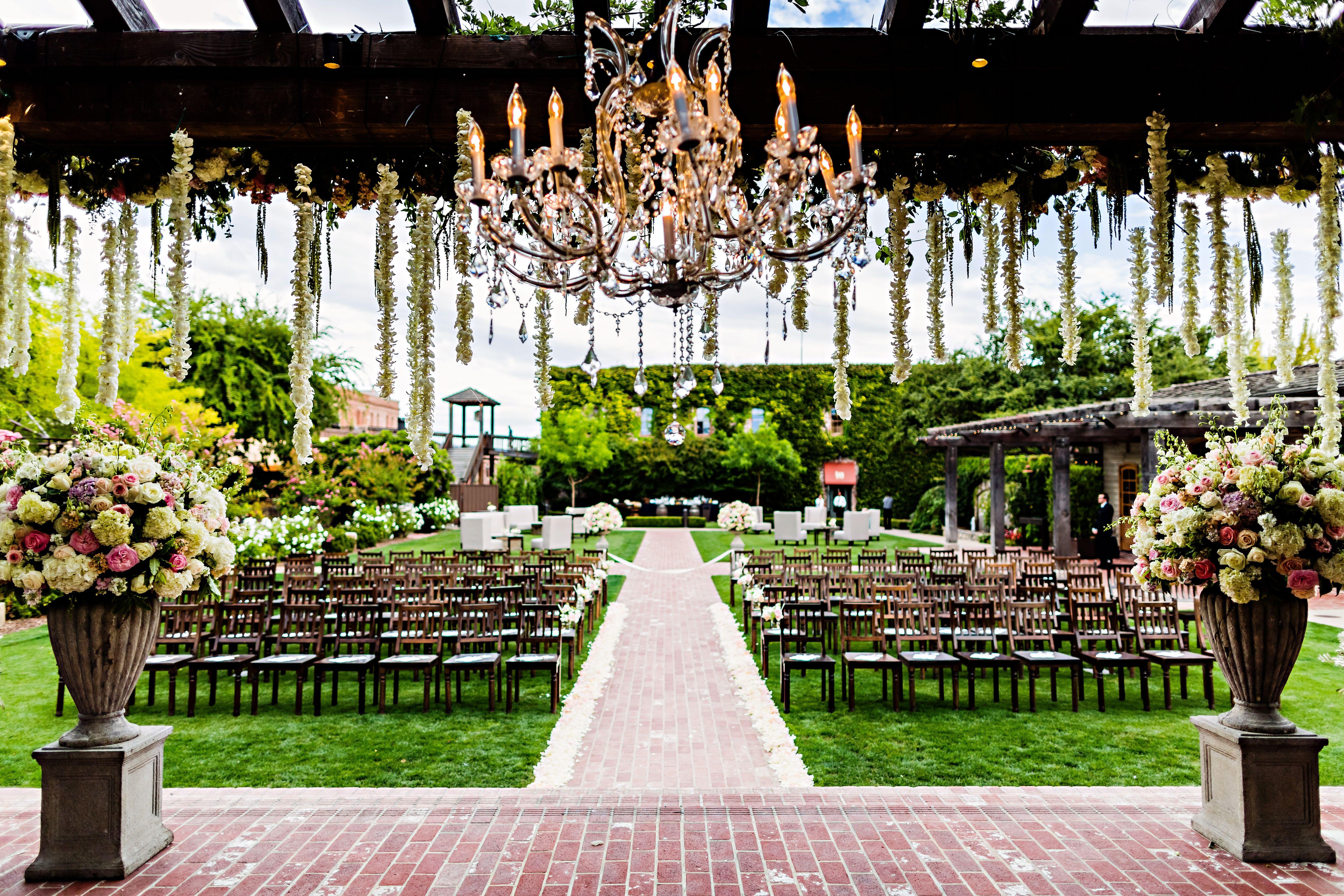 Outdoor Weddings Brazos Valley Wedding Planning: The Estate Yountville