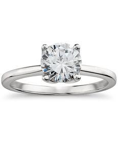 Monique Lhuillier Fine Jewelry Round Cut Engagement Ring