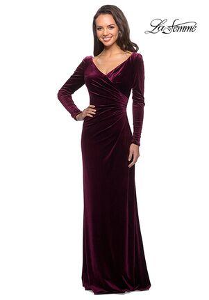 La Femme Evening 25207 Black Mother Of The Bride Dress