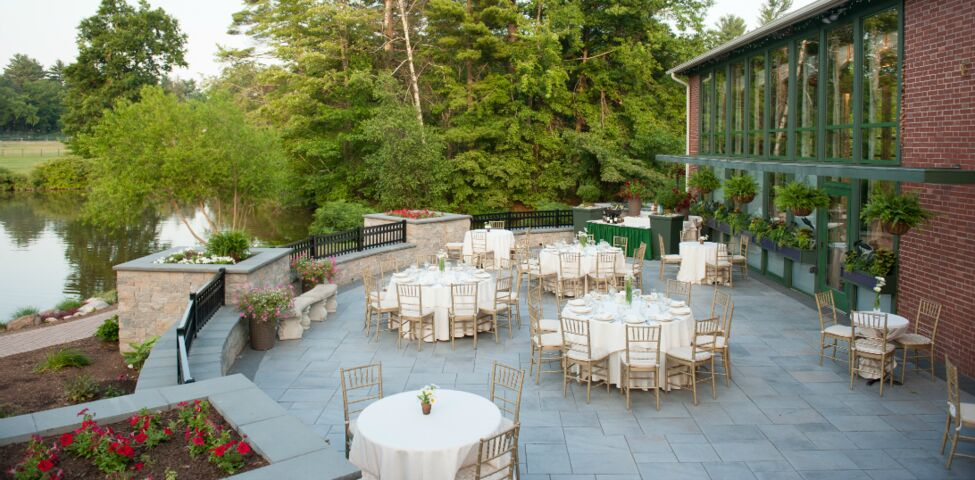 Pond House Cafe Wedding Ceremony