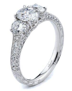 Supreme Jewelry Elegant Oval Cut Engagement Ring