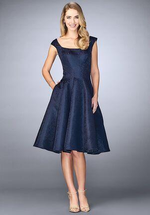 La Femme Evening 24898 Blue Mother Of The Bride Dress