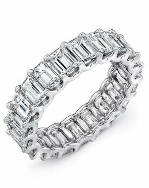 Uneek Fine Jewelry ETEC500 Platinum Wedding Ring