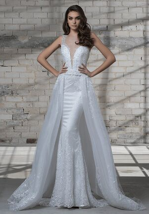 LOVE by Pnina Tornai for Kleinfeld 14683AXS Sheath Wedding Dress