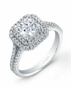 Uneek Fine Jewelry Princess Cut Engagement Ring
