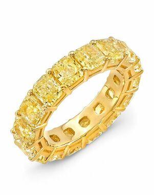 Uneek Fine Jewelry LVB162 Gold Wedding Ring
