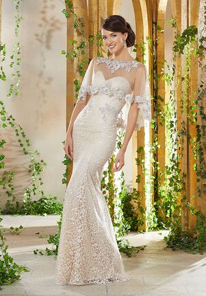 MGNY 71936 Champagne Mother Of The Bride Dress