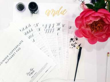 Tips from a calligraphy workshop
