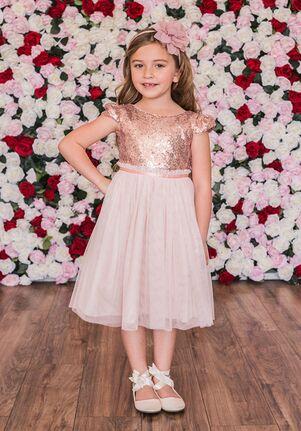 Kid's Dream 410 Pink Flower Girl Dress