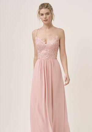 JASMINE P196058 V-Neck Bridesmaid Dress