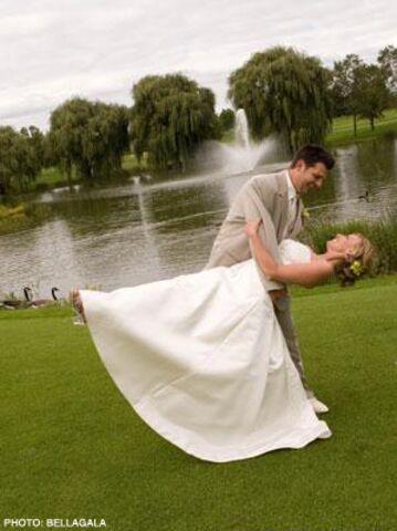 Glen oak golf course wedding