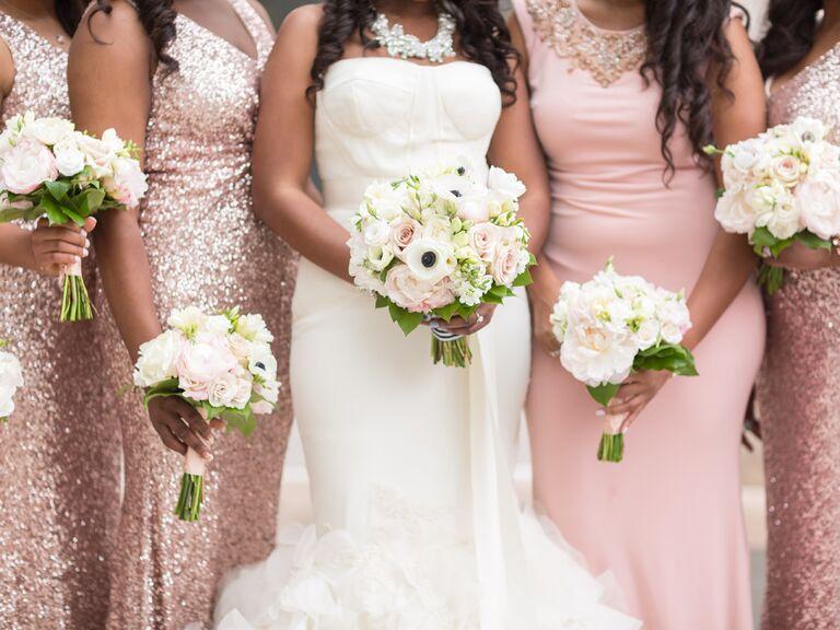 Glamorous wedding theme ideas