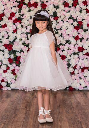 Kid's Dream C204 Green Flower Girl Dress