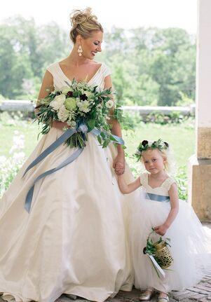 FATTIEPIE grace toddler Flower Girl Dress
