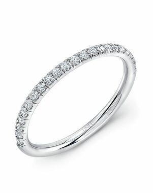 Uneek Fine Jewelry WB229 White Gold Wedding Ring