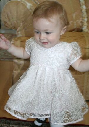 Isabel Garretón Beautiful - Baby Pink Flower Girl Dress