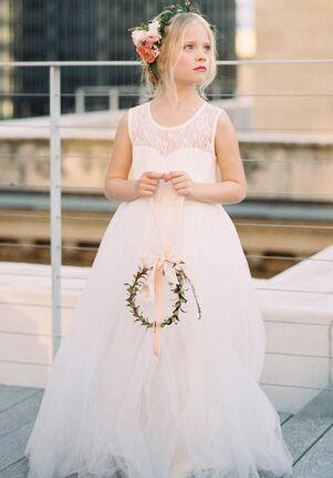 FATTIEPIE Ivorylace Flower Girl Dress
