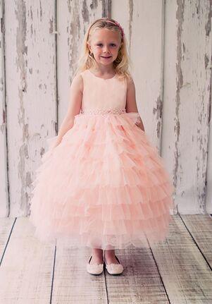 Kid's Dream 8050 Ivory Flower Girl Dress