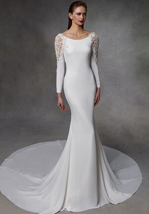 Badgley Mischka Bride Donna Mermaid Wedding Dress