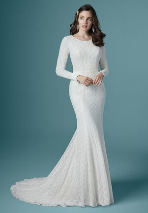 Maggie Sottero GERALDINE LEIGH Sheath Wedding Dress