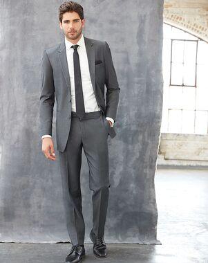 Allure Men Graphite Suit Gray Tuxedo