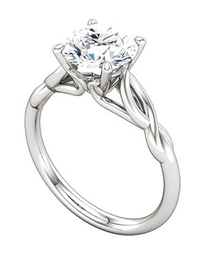 ever&ever Classic Princess, Asscher, Cushion, Emerald, Round, Oval Cut Engagement Ring