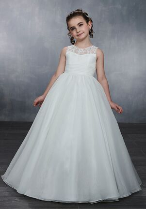 Mary's Angel by Mary's Bridal MB9042 White Flower Girl Dress