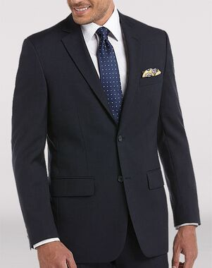 Men's Wearhouse Pronto Uomo Platinum® Navy Suit Blue Tuxedo