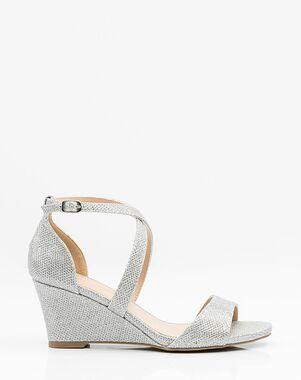 LE CHÂTEAU Wedding Boutique SHOES_362141_092 Gold, Silver, Gray, Champagne Shoe