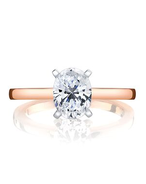 MARS Fine Jewelry Classic Oval Cut Engagement Ring