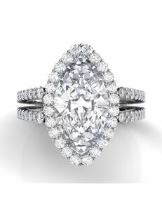 Danhov Marquise Cut Engagement Ring