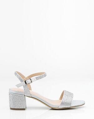 LE CHÂTEAU Wedding Boutique SHOES_362091_092 Black, Pink, Silver, Gray, Champagne Shoe