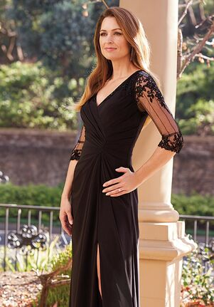 Jade Couture Mother of the Bride by Jasmine K208053 Black Mother Of The Bride Dress