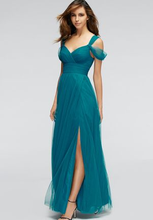 Watters Maids Gladiola 1309 Off the Shoulder Bridesmaid Dress