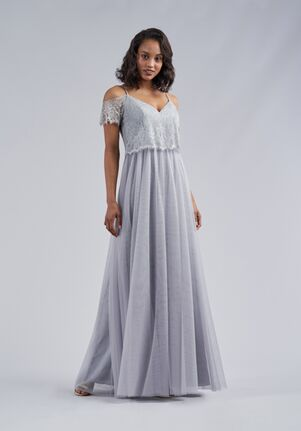 Belsoie Bridesmaids by Jasmine L214064 V-Neck Bridesmaid Dress