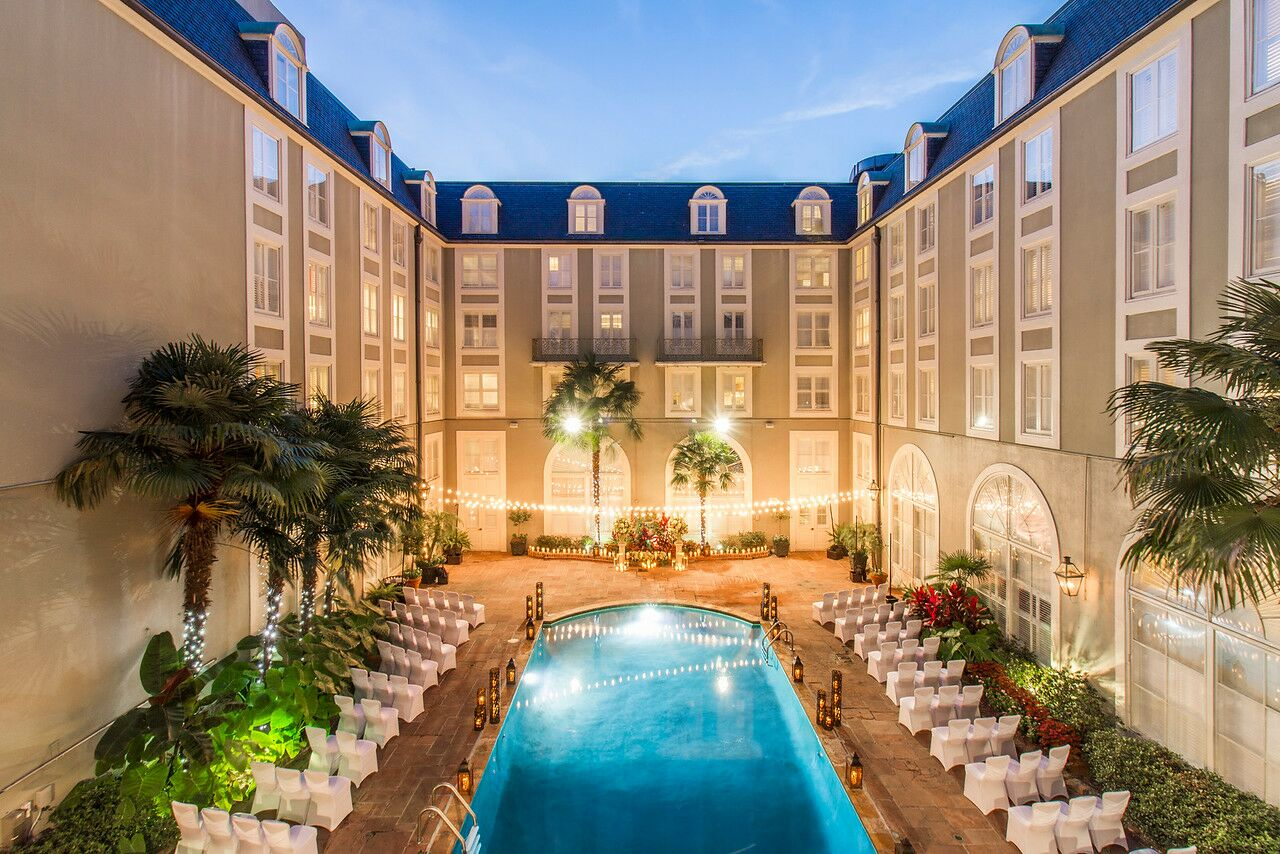 Bourbon Orleans Hotel New Orleans La