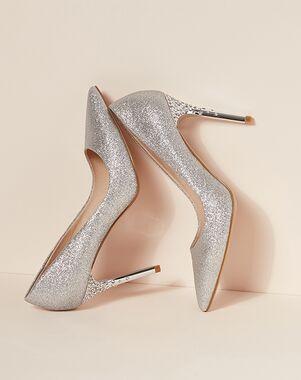 LE CHÂTEAU Wedding Boutique SHOES_363577_092 Silver, White, Gray Shoe