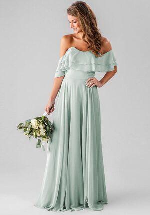 Kennedy Blue Allison Off the Shoulder Bridesmaid Dress