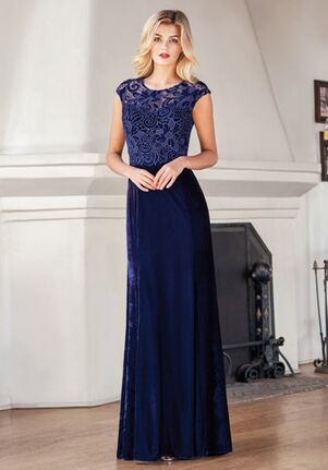 Jade Mother of the Bride by Jasmine J215067 Blue Mother Of The Bride Dress