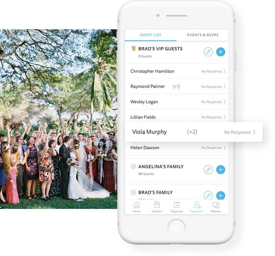 Real Time Wedding Guest Updates, The Knot