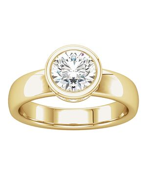 ever&ever Unique Cushion, Round, Oval Cut Engagement Ring