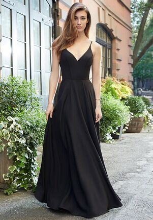 Hayley Paige Occasions 5815 V-Neck Bridesmaid Dress